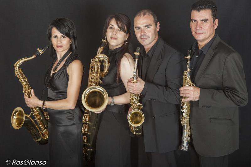 Saxiberian Duo and Sax Ensemble Quartet
