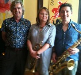 Sean Mix, Amelia Gould and  Larry Bell