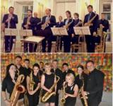 SOS Saxophone Orchestra and Hungarian Saxophone Consort - Miha Rogina, conductor