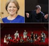 Debra Richtmeyer, Lars Mlekusch and the MIT Saxophone Ensemble